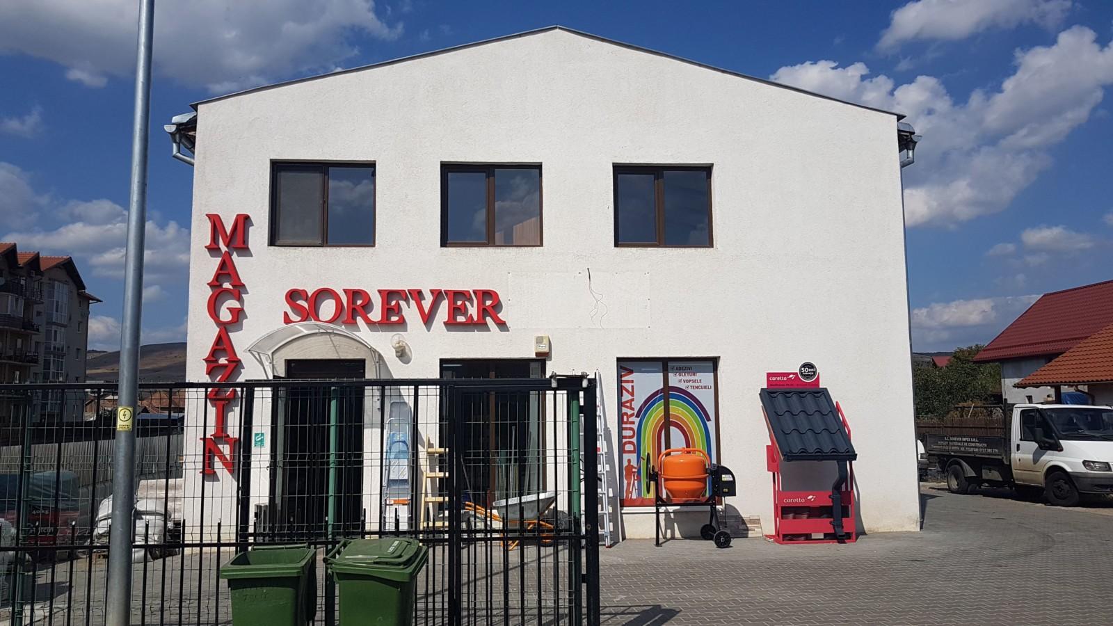 Clădirea noua Sorever Impex
